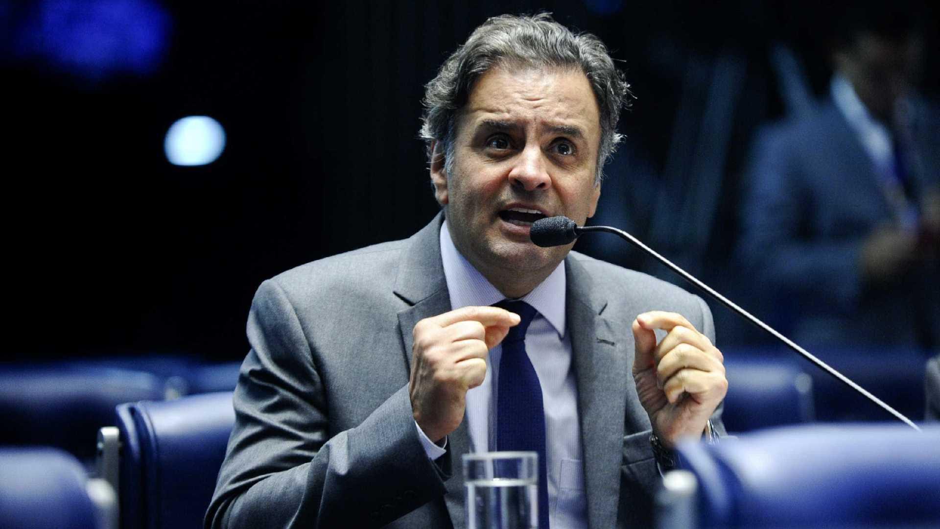 PF cumpre mandados de buscas em imóveis de Aécio Neves