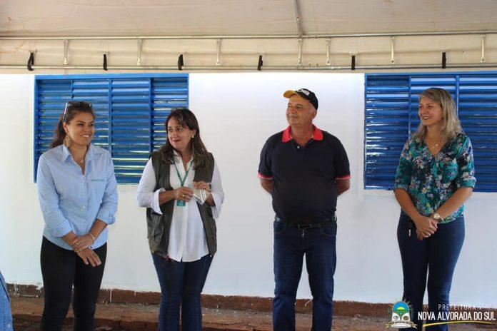 Administração Municipal de Nova Alvorada do Sul em parceria com o SENAR-MS inicia curso de Floricultura, Jardinagem e Paisagismo