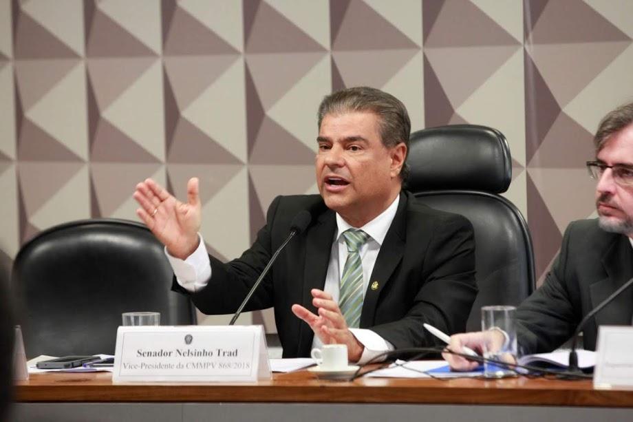 Nelsinho Trad vota para retirar Coaf de Sérgio Moro