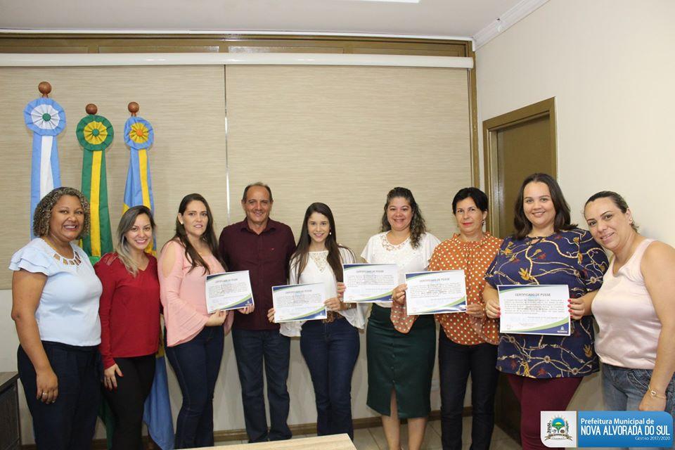 Administração municipal de Nova Alvorada do Sul dá posse aos novos membros do Conselho Tutelar