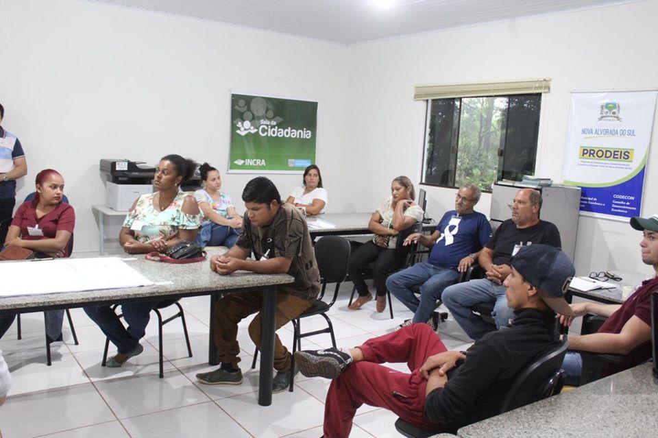 Administração Municipal de Nova Alvorada do Sul em parceria com o SENAR/MS capacita 15 alunos através do curso de Educação Ambiental