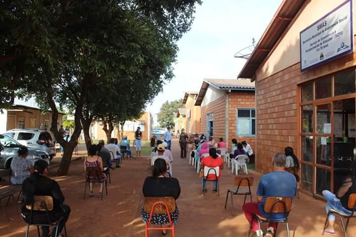 Administração Municipal de Nova Alvorada do Sul realiza a entrega de Cestas Básicas e cobertores através do programa Municipal Segurança Alimentar