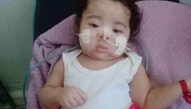 Menina com paralisia cerebral pode estar cega e precisa arrecadar R$ 6 mil para exames