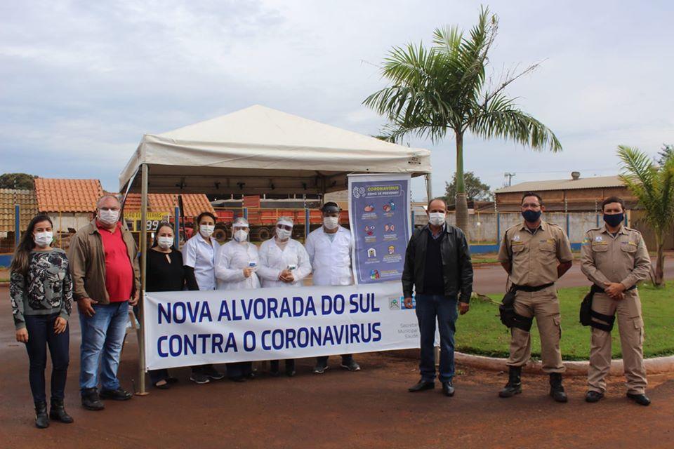 Profissionais do município de Nova Alvorada do Sul seguem na linha de frente do combate ao coronavírus