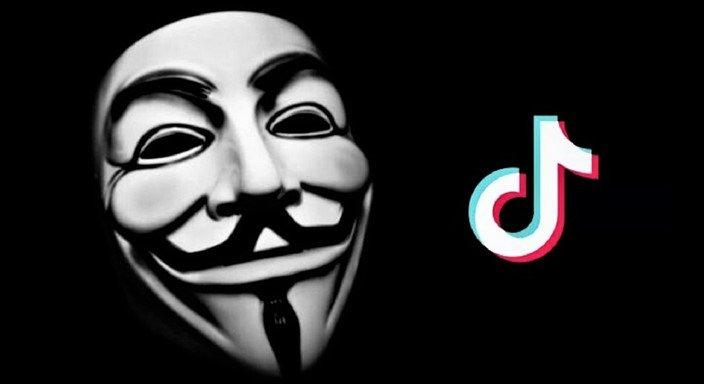 Anonymous alerta para usuários deletarem o TikTok