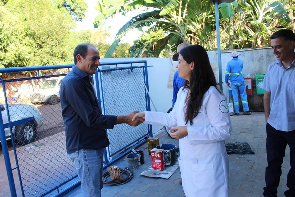 Unidade básica de Saúde Leonora recebe reforma
